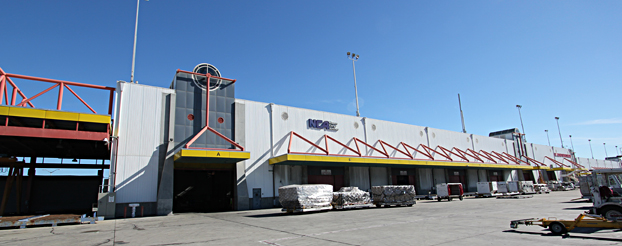 Rampside at SFO On-Airport Warehouse